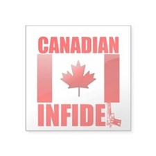 CANADIAN INFIDEL Sticker