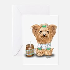 Peanut Butter Lover ByCatiaCho Greeting Cards