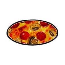 Pepperoni and Mushroom Pizza Patches