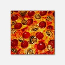 Pepperoni and Mushroom Pizza Sticker