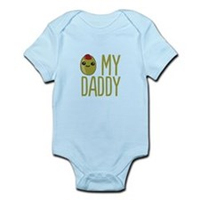 Olive My Daddy Body Suit
