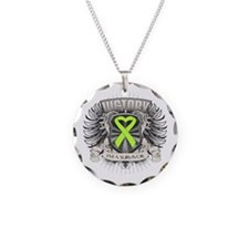 Non-Hodgkins Lymphoma Victo Necklace Circle Charm