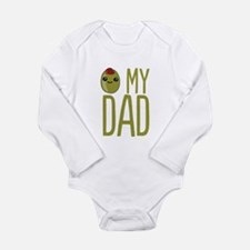 Olive My Dad Body Suit