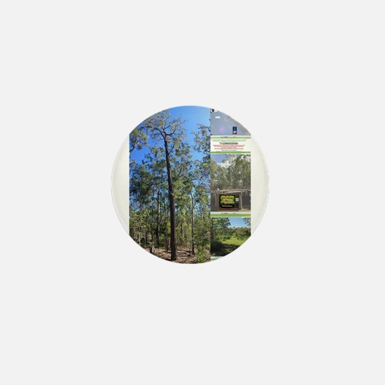 Large tall trees #odcctv Mini Button
