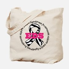 EDS Zebra Ribbon Tote Bag