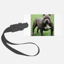 Pit Bull Luggage Tag
