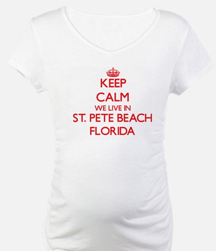 Keep calm we live in St. Pete Be Shirt