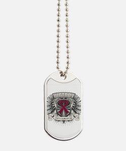Multiple Myeloma Victory Dog Tags