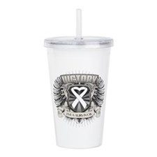 Lung Cancer Victory Acrylic Double-wall Tumbler