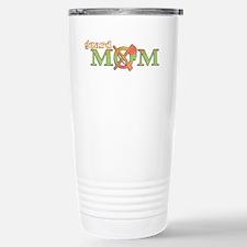 Unique Color guard mom Travel Mug