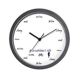 Triathlon clock Wall Clocks
