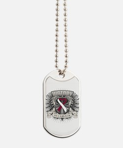 Head Neck Cancer Victory Dog Tags