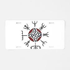 Vegvisir Aluminum License Plate