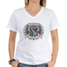 Hereditary Breast Cancer V Shirt