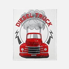 Diesel Truck Throw Blanket