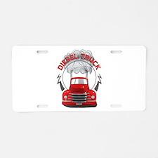 Diesel Trucks Aluminum License Plate