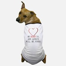 My Heart is Yours Dog T-Shirt