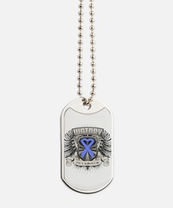 Esophageal Cancer Victory Dog Tags