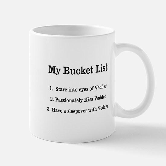 Personalized My Bucket List Mugs
