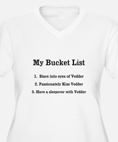 Personalized My Bucket List Plus Size T-Shirt