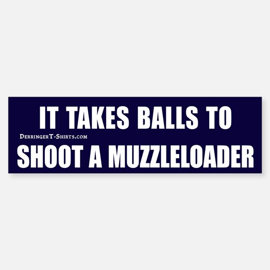 Muzzleloader Bumper Bumper Bumper Sticker