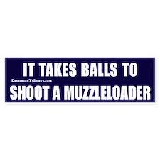 Muzzleloader Bumper Bumper Sticker