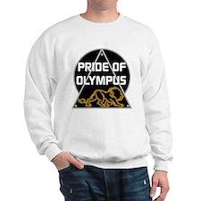 Pride of Olympus BW Sweatshirt