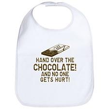 Hand over the CHOCOLATE! Bib