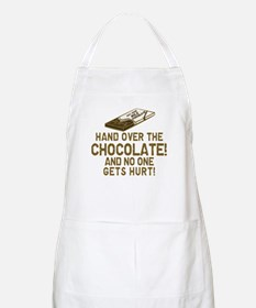Hand over the CHOCOLATE! BBQ Apron