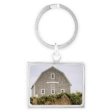 Block Island Barn Keychains