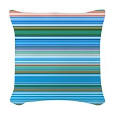 Fine Lines Woven Throw Pillow