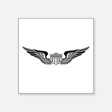 """Unique Aviation Square Sticker 3"""" x 3"""""""
