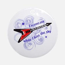 KISS THE SKY Ornament (Round)