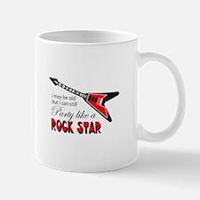 PARTY LIKE A ROCK STAR Mugs