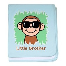 Little Brother Monkey baby blanket