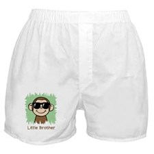 Little Brother Monkey Boxer Shorts