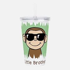 Little Brother Monkey Acrylic Double-wall Tumbler