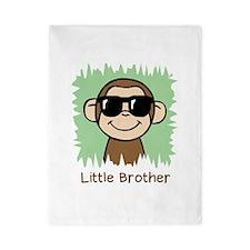 Little Brother Monkey Twin Duvet