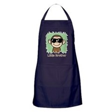 Little Brother Monkey Apron (dark)