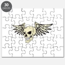 WINGED SKULL Puzzle