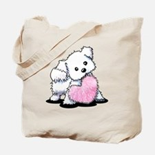 Heart & Soul Puppy Tote Bag