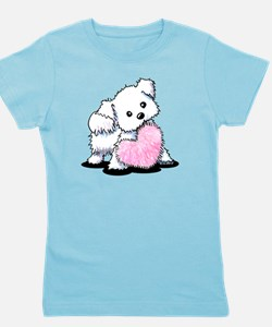 Heart & Soul Puppy Girl's Tee