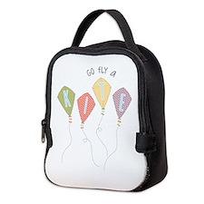 Go fly a kite Neoprene Lunch Bag