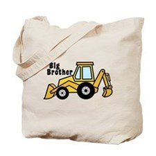 Big Brother Backhoe Tote Bag