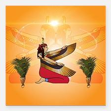 Isis the goddess of Egyptian mythology Square Car