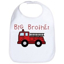 Big Brother Fire Truck Bib