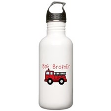 Big Brother Fire Truck Water Bottle
