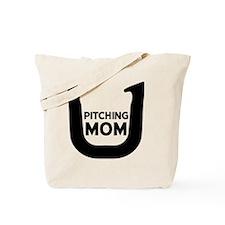 Horseshoe Pitching Mom Tote Bag