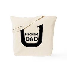 Horseshoe Pitching Dad Tote Bag