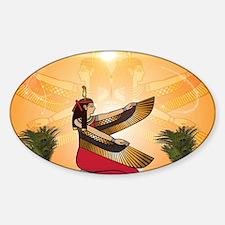 Isis the goddess of Egyptian mythology Decal
